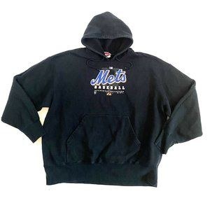 New York Jets Majestic Black Hoodie Sweatshirt